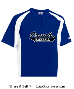 Knuckler Adult 2-Button Placket Baseball Jersey Design Zoom
