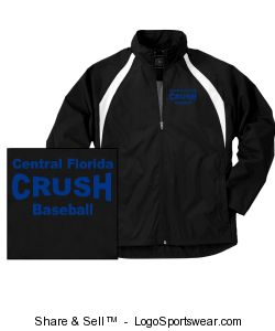 Mens TeamPro Jacket Design Zoom